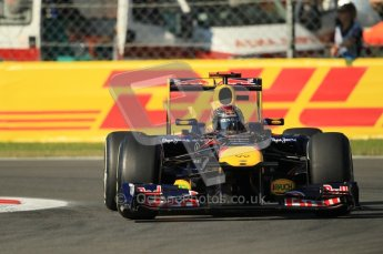 © Octane Photographic Ltd. 2011. Formula 1 World Championship – Italy – Monza – 9th September 2011 – Sebastian Vettel - Red Bull Racing RB7 - Free practice 1 – Digital Ref :  0173CB1D1803