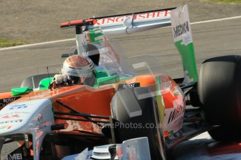 © Octane Photographic Ltd. 2011. Formula 1 World Championship – Italy – Monza – 9th September 2011 – Adrian Sutil, Force India VJM04 - Free practice 1 – Digital Ref : 0173CB1D1955