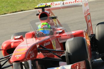 © Octane Photographic Ltd. 2011. Formula 1 World Championship – Italy – Monza – 9th September 2011 – Felipe Massa, Ferrari F150 - Free practice 1 – Digital Ref : 0173CB1D1973