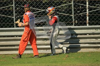 © Octane Photographic Ltd. 2011. Formula 1 World Championship – Italy – Monza – 9th September 2011 – Jerome d'Ambrosio - Virgin Marussia Racing VMR02,  Free practice 1 – Digital Ref :  0173CB1D2102