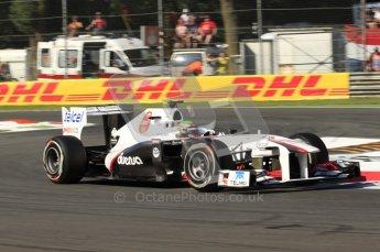 © Octane Photographic Ltd. 2011. Formula 1 World Championship – Italy – Monza – 9th September 2011 –  Sergio Perez, Sauber C30 - Free practice 1 – Digital Ref :  0173CB7D5828
