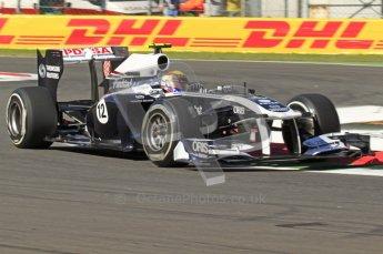 © Octane Photographic Ltd. 2011. Formula 1 World Championship – Italy – Monza – 9th September 2011 –  Pastor Maldonado - Williams FW33, Free practice 1 – Digital Ref :  0173CB7D5845