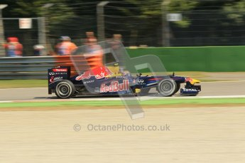 © Octane Photographic Ltd. 2011. Formula 1 World Championship – Italy – Monza – 9th September 2011 – Free practice 2, Red Bull RB7 - Mark Webber – Digital Ref :  0174CB1D2297