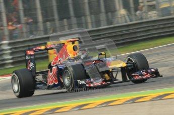 © Octane Photographic Ltd. 2011. Formula 1 World Championship – Italy – Monza – 10th September 2011, Sebastian Vettel, Red Bull Racing RB7 – Free practice 3 – Digital Ref :  0175CB1D2502