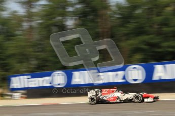 © Octane Photographic Ltd. 2011. Formula 1 World Championship – Italy – Monza – 10th September 2011 - Daniel Ricciardo, HRT F111 – Free practice 3 – Digital Ref :  0175CB7D6735