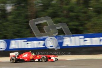 © Octane Photographic Ltd. 2011. Formula 1 World Championship – Italy – Monza – 10th September 2011 - Felipe Massa, Ferrari F150 – Free practice 3 – Digital Ref :  0175CB7D6773