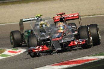 © Octane Photographic Ltd. 2011. Formula 1 World Championship – Italy – Monza – 10th September 2011 – Qualifying – Digital Ref : 0176CB7D7091