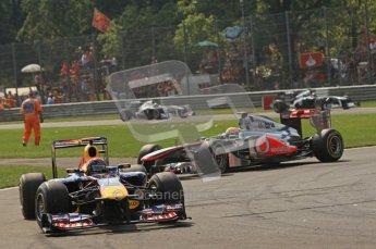 © Octane Photographic Ltd. 2011. Formula 1 World Championship – Italy – Monza – 11th September 2011 – Race – Digital Ref :  0177CB7D7928