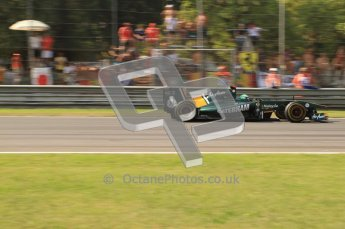 © Octane Photographic Ltd. 2011. Formula 1 World Championship – Italy – Monza – 11th September 2011 Heikki Kovalainen, Team Lotus TL128 – Race – Digital Ref :  0177CB7D8167