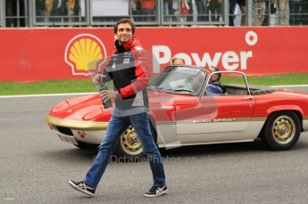 © Octane Photographic Ltd. 2011. Formula One Belgian GP – Spa – Sunday 28th August 2011 – Drivers' parade and starting grid. Digital Reference : 0167cb7d0681