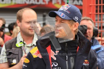 © Octane Photographic Ltd. 2011. Formula One Belgian GP – Spa – Sunday 28th August 2011 – Drivers' parade and starting grid. Digital Reference : 0167lw7d8148