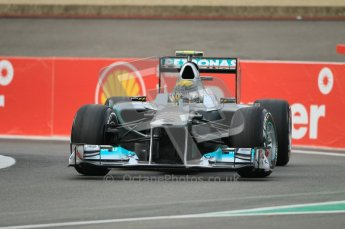 © Octane Photographic Ltd. 2011. Formula One Belgian GP – Spa – Friday 26th August 2011 – Free Practice 1, Nico Rosberg - Mercedes MGP W02. Digital Reference : 0163CB1D6938