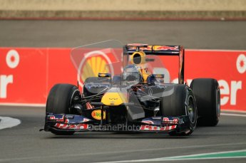© Octane Photographic Ltd. 2011. Formula One Belgian GP – Spa – Friday 26th August 2011 – Free Practice 1, Sebastian Vettel - Red Bull RB7. Digital Reference : 0163CB1D6972