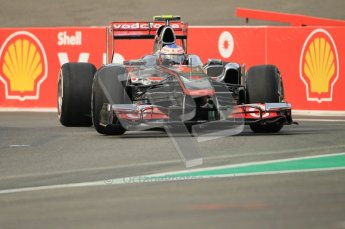 © Octane Photographic Ltd. 2011. Formula One Belgian GP – Spa – Friday 26th August 2011 – Free Practice 1, Jenson Button - Vodafone McLaren Mercedes MP4/26. Digital Reference : 0163CB1D6987