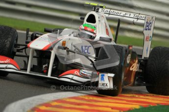 © Octane Photographic Ltd. 2011. Formula One Belgian GP – Spa – Friday 26th August 2011 – Free Practice 2. Digital Reference : 0164CB1D7801