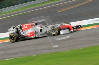 © Octane Photographic Ltd. 2011. Formula One Belgian GP – Spa – Friday 26th August 2011 – Free Practice 2. Digital Reference : 0164CB7D0820
