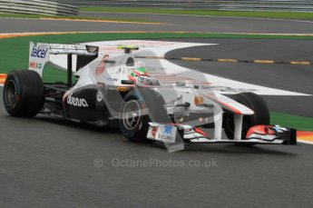 © Octane Photographic Ltd. 2011. Formula One Belgian GP – Spa – Friday 26th August 2011 – Free Practice 2. Digital Reference : 0164LW7D2726