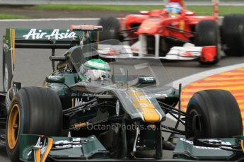 © Octane Photographic Ltd. 2011. Formula One Belgian GP – Spa – Friday 26th August 2011 – Free Practice 2. Digital Reference : 0164LW7D2751