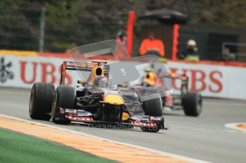 © Octane Photographic Ltd. 2011. Formula One Belgian GP – Spa – Saturday 27th August 2011 – Qualifying. Digital Reference : 0166CB1D1328