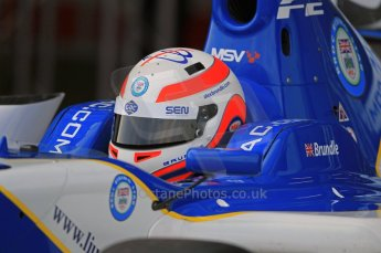 © Octane Photographic 2011. FIA F2 - 16th April 2011 - Qualifying. Alex Brundle. Silverstone, UK. Digital Ref. 0050CB1D0007