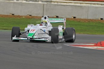 © Octane Photographic 2011. FIA F2 - 16th April 2011, Race 1. Natalia Kowalska. Silverstone, UK. Digital Ref. 0050CB1D0612