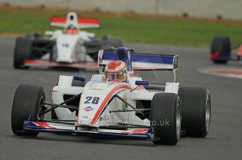 © Octane Photographic 2011. FIA F2 - 16th April 2011, Race 1. Benjamin Lariche. Silverstone, UK. Digital Ref. 0050CB1D0645