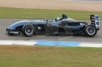 © Octane Photographic 2011 – British Formula 3 - Donington Park. 24th September 2011, Scott Pye - Double R, Dallara F308 Mercedes HWA. Digital Ref : 0182lw1d5389