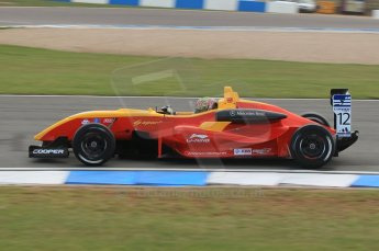 © Octane Photographic 2011 – British Formula 3 - Donington Park. 24th September 2011, Adderly Fong - Sino Vision Racing - Dallara F308 Mercedes HWA. Digital Ref : 0182lw1d5421