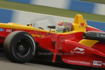 © Octane Photographic 2011 – British Formula 3 - Donington Park. 24th September 2011, Adderly Fong - Sino Vision Racing - Dallara F308 Mercedes HWA. Digital Ref :
