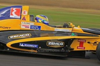 © Octane Photographic Ltd. 2011. Formula Renault 2.0 UK – Snetterton 300, Tio Ellinas - Atech Reid GP. Saturday 6th August 2011. Digital Ref : 0122LW7D0204