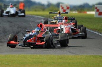 © Octane Photographic Ltd. 2011. Formula Renault 2.0 UK – Snetterton 300, Jordan King - Manor Competition followed by Alex Lynn - Fortec Motorsports and Tio Ellinas - Atech Reid GP. Sunday 7th August 2011. Digital Ref : 0123CB1D3585