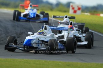 © Octane Photographic Ltd. 2011. Formula Renault 2.0 UK – Snetterton 300, Daniel Cammish - Mark Burdett Motorsport heading the pack. Sunday 7th August 2011. Digital Ref : 0123CB1D3590