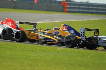 © Octane Photographic Ltd. 2011. Formula Renault 2.0 UK – Snetterton 300, Tio Ellinas - Atech Reid GP exiting Montreal hairpin. Sunday 7th August 2011. Digital Ref : 0123CB1D3612