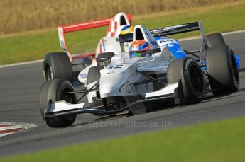 © Octane Photographic Ltd. 2011. Formula Renault 2.0 UK – Snetterton 300, Jack Hawksworth - Atech Reid GP, under pressure from Oliver Rowland - Fortec Motorsports. Sunday 7th August 2011. Digital Ref : 0123CB1D3676