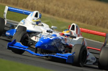 © Octane Photographic Ltd. 2011. Formula Renault 2.0 UK – Snetterton 300, Oliver Rowland - Fortec Motorsports followed by Daniel Cammish - Mark Burdett Motorsport. Sunday 7th August 2011. Digital Ref : 0123CB1D3801