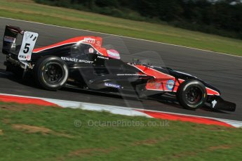 © Octane Photographic Ltd. 2011. Formula Renault 2.0 UK – Snetterton 300, Alice Powell - Manor Competition. Sunday 7th August 2011. Digital Ref : 0123LW7D0513