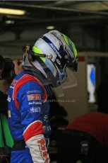 © Octane Photographic Ltd. The British F3 International & British GT Championship at Rockingham. Will Buller perparing to get into car. Digital Ref: 0188LW7D2397