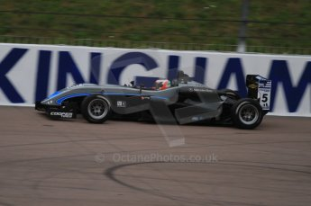 © Octane Photographic Ltd. The British F3 International & British GT Championship at Rockingham. Pipo Derani on track. Digital Ref: 0188LW7D2674