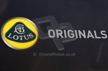 © Octane Photographic 2011. Goodwood Festival of Speed, Thursday 30th June 2011. Lotus Original merchandise. Digital Ref : 0097CB1D9833