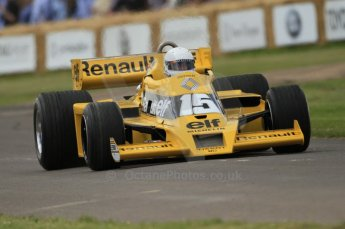© Octane Photographic 2011. Goodwood Festival of Speed, Friday 1st July 2011. Renault RS01 Turbo. Digital Ref : 0097CB7D6751