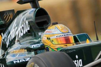 © Octane Photographic 2011. Goodwood Festival of Speed, Friday 1st July 2011.  Lotus T126 driven by Luiz Razia. Digital Ref : 0097CB7D6957