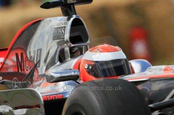 © Octane Photographic 2011. Goodwood Festival of Speed, Friday 1st July 2011. McLaren MP4/24 driven by Chris Goodwin. Digital Ref : 0097CB7D6998