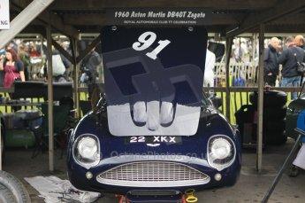 © Octane Photographic 2011 – Goodwood Revival 17th September 2011. Aston Marton DB4GT Zagato. Digital Ref : 0179CB1D4334