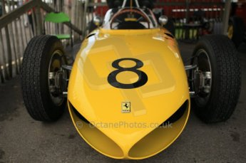 © Octane Photographic 2011 – Goodwood Revival 17th September 2011. Ferrari 156 sharknose replica, Historic F1. Digital Ref : 0179CB1D4358