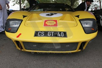 © Octane Photographic 2011 – Goodwood Revival 17th September 2011. Ford GT40. Digital Ref : 0179LW7D7309