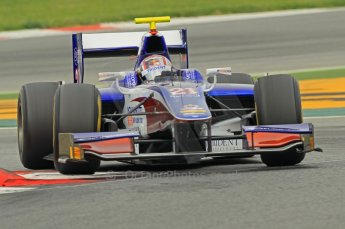 © Octane Photographic 2011. GP2 Official pre-season testing, Barcelona, Tuesday 19th April 2011. Trident Racing - Stefano Coletti. Digital Ref : 0052CB1D0253