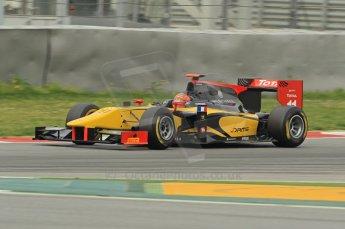 © Octane Photographic 2011. GP2 Official pre-season testing, Barcelona, Tuesday 19th April 2011. DAMS - Romain Grosjean. Digital Ref : 0052CB1D0459