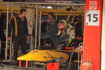 © Octane Photographic 2011. GP2 Official pre-season testing, Barcelona, Tuesday 19th April 2011. DAMS - Romain Grosjean. Digital Ref : 0052CB7D0049
