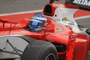 © Octane Photographic 2011. GP2 Official pre-season testing, Barcelona, Tuesday 19th April 2011. Scuderia Colini - Michael Herck. Digital Ref : 0052CB7D0066
