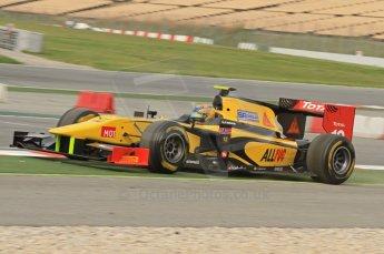 © Octane Photographic 2011. GP2 Official pre-season testing, Barcelona, Tuesday 19th April 2011. DAMS - Pal Varhaug. Digital Ref : 0052CB7D0237
